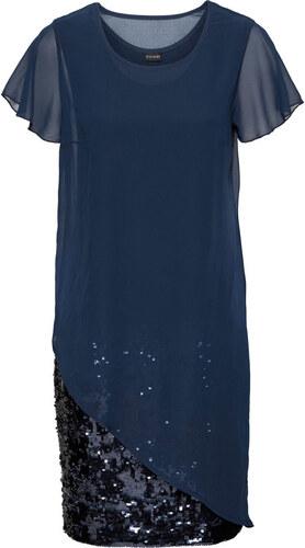 Bonprix Koktejlové šaty z džerseju s flitrami - Glami.sk 653fd8aafa