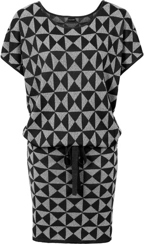 53f551ec52bb Bonprix Pletené šaty so šnúrkou - Glami.sk