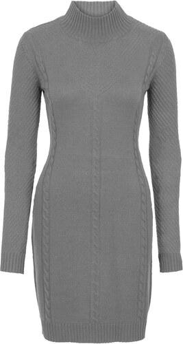 cf275300f0aa Bonprix Pletené šaty s ažúrovým vzorom - Glami.sk
