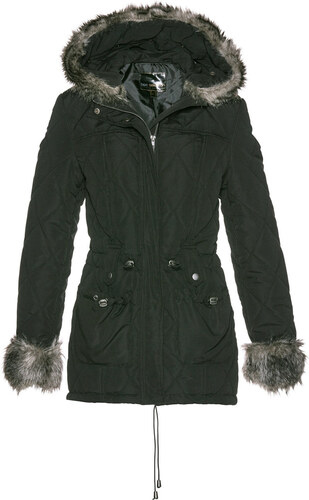 Bonprix Prešívaná bunda s imitáciou kožušiny - Glami.sk 9a8e5b8eafd