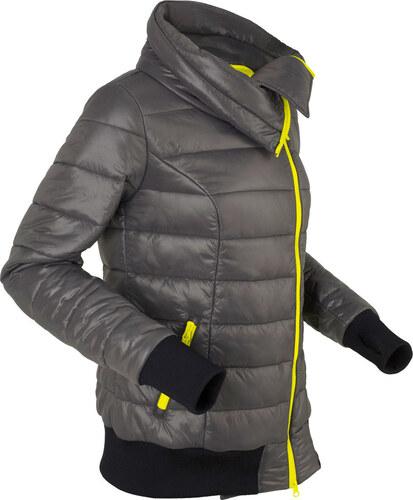 Nové Bonprix Ľahká prešívaná bunda s asymetrickým zapínaním na zips f62f50be370