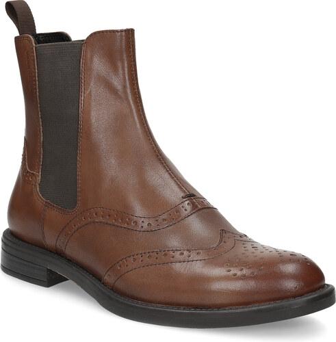 1869251fc44 Vagabond Dámská hnědá kožená Chelsea obuv - Glami.cz