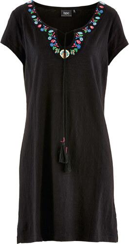 dddbb01c1 Bonprix Úpletové šaty z vypaľovaného vlákna - Glami.sk