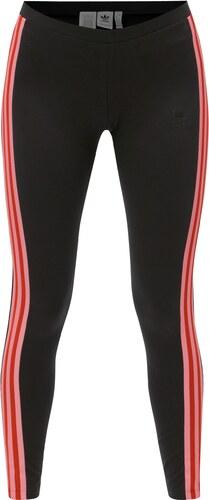 Černé dámské legíny s pruhy adidas Originals - Glami.cz 9ccfbafbcd