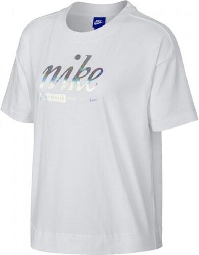 7701fa43d298 Nike SPOSTSWEAR TOP CROP METALLIC - Glami.sk
