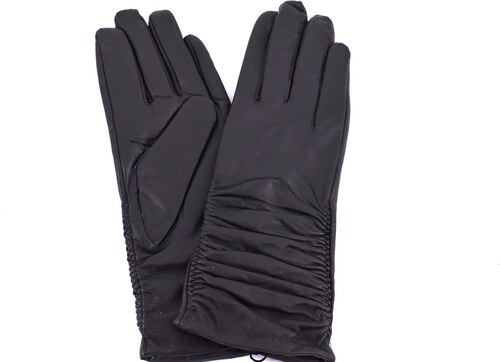 37ab6e197c2 Dámské kožené rukavice Coveri Collection - tmavě šedá (M) - Glami.cz