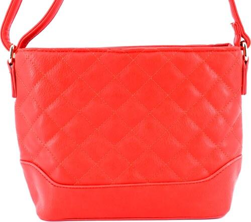 Dámská dívčí prošívaná kabelka crossbody - červená - Glami.cz a3fc18a7c19
