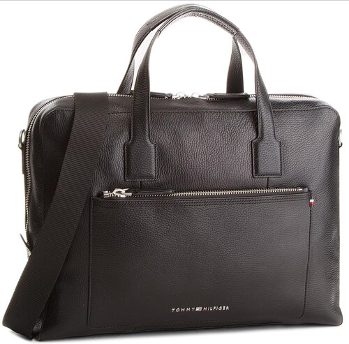 Laptoptáska TOMMY HILFIGER - Soft Leather Computer Bag AM0AM02941 ... 3abf97b8be