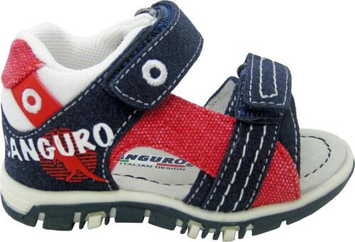 b2dbdf2618 Canguro Chlapčenské sandále - modro-červené - Glami.sk