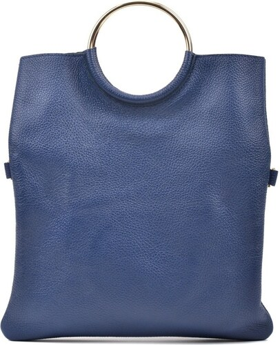 Modrá kožená kabelka Luisa Vannini Pergon Cross - Glami.sk 1d7ddc06eff