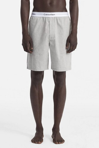 Pánské Pyžamové Kraťasy Calvin Klein Modern Cotton Šedé - Glami.cz 8368bce88d