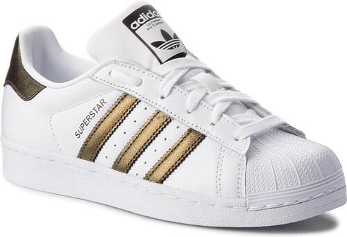 Cipő adidas - Superstar W B41513 Ftwwht Cblack Cblack - Glami.hu f436d28b12