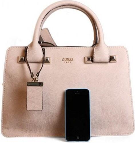 2b094efabd Guess ružové luxusné značkové kabelky do ruky VG 67 - Glami.sk