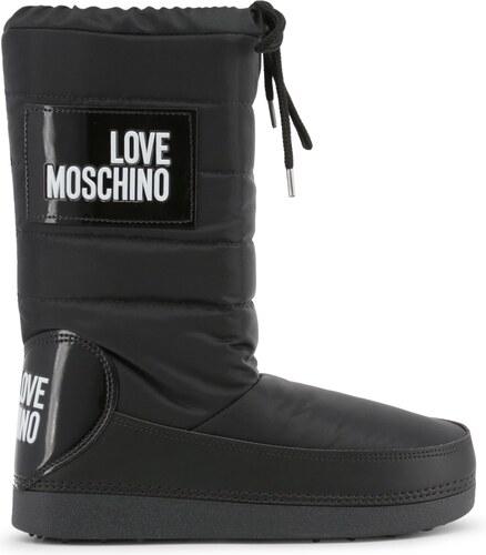 LOVE MOSCHINO Dámské sněhule Love Moschino Černá - Glami.cz ef441acc6a