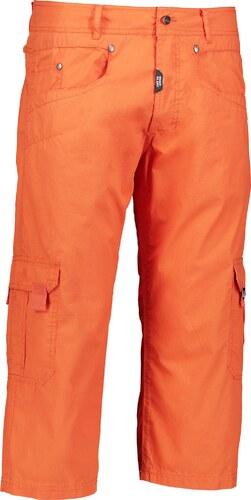Nordblanc Oranžové pánske bavlnené cargo kraťasy ICER - NBSMP2374A ... 6a331f4592