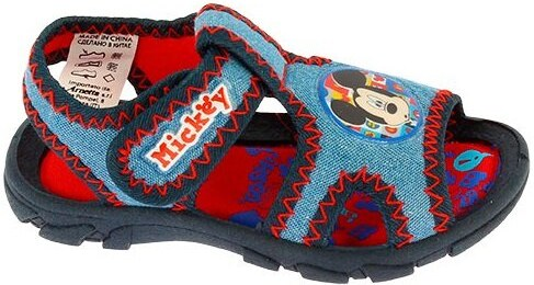 f249c881e Disney by Arnetta Chlapčenské sandále Mickey Mouse - modré - Glami.sk