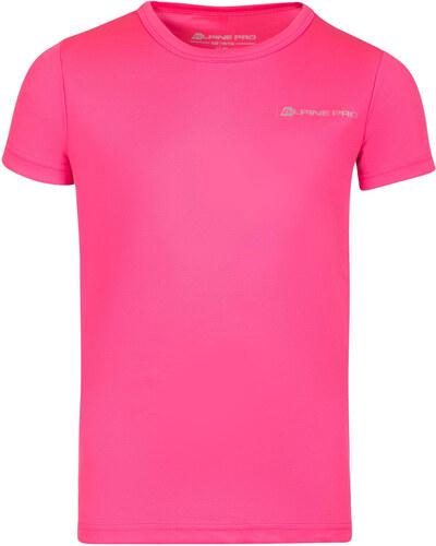 Dětské triko Alpine Pro HOTO - růžová - Glami.cz 8d26210ea7