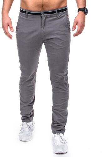 Kalhoty pánské OMBRE P156 GREY - Glami.cz 89d3d8a0e3