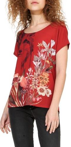 fad74357b Desigual červené tričko Fox - Glami.sk