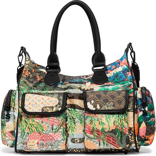 380a1b5dbc Desigual szines kézitáska London Medium Explorer - Glami.hu