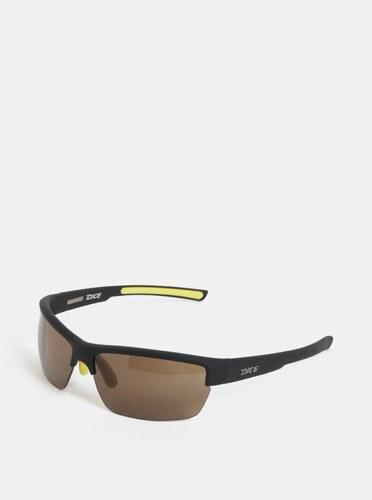 Žlto-čierne pánske slnečné okuliare Dice Sport - Glami.sk 87b23af374f