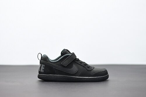 Dětské Tenisky Nike COURT BOROUGH LOW (PSV) BLACK BLACK - Glami.cz 076de0aeea