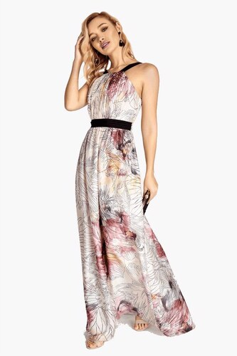 LITTLE MISTRESS Maxi šaty s potlačou - Glami.sk aaf08e21606