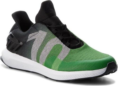 Cipő adidas - Rapidarun Uncaged K B27999 Cblack Sgreen Ftwwht - Glami.hu 18110f4852