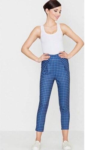 99170840cfc9 Dámske modré vzorované nohavice - Glami.sk