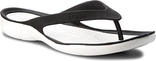 Žabky CROCS - Swiftwater Flip W 204974 Black White - Glami.sk 576e955375