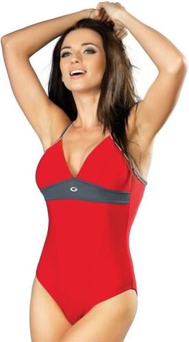 8913735d210 Winner Jednodílné sportovní červené plavky Rosanna I M červená ...