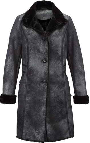 Krátky kabát Laura Kent Čierna - Glami.sk 9810f36ae05