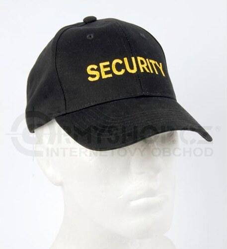 b0990c69f17 Čepice Baseball Cap SECURITY černá - Glami.cz