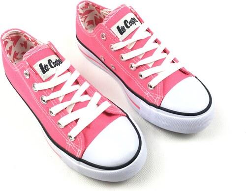 Dámské boty Lee Cooper C Růžové - Glami.sk 4dea30b293b