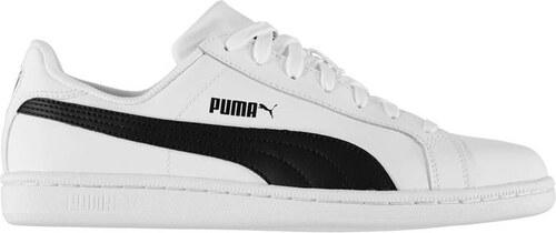 Pánské kožené boty Puma Smash Bílé - Glami.cz 80b5c83ef8