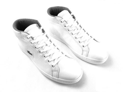 Pánské kožené boty Lacoste Chukka Bílé   Šedé - Glami.cz 457c603521