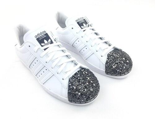 4eade232ebf Dámské boty adidas Originals Superstar Metal Toe Bílé - Glami.cz