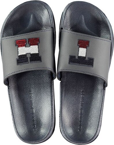 Dámské pantofle Tommy Hilfiger Pool Sliders Modré - Glami.cz 0c8fb792b6