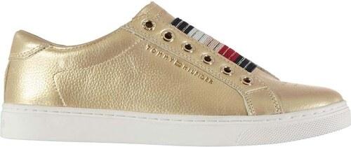 Dámské boty Tommy Hilfiger Starboy Leather Zlaté - Glami.cz 8d9e3a7646