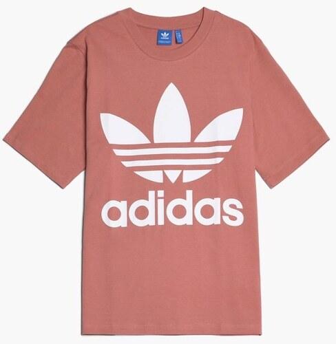 2167b6a6e335 Triko adidas Originals Trefoil Růžové - Glami.sk