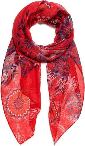 Desigual Dámský obdélníkový šátek Fular Mandala 18WAWW49 - Glami.cz e3f7096087