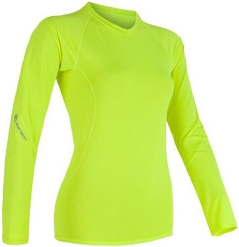 Sensor Coolmax Fresh dámské triko dlouhý rukáv žlutá reflex - Glami.cz 4ca17545345