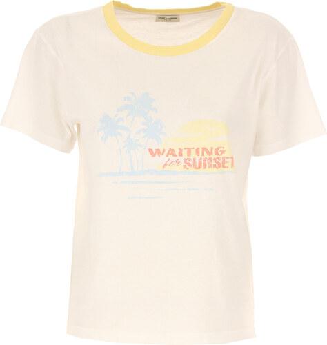 4e9aa1cc9f3e Yves Saint Laurent Tričko pro ženy Ve výprodeji