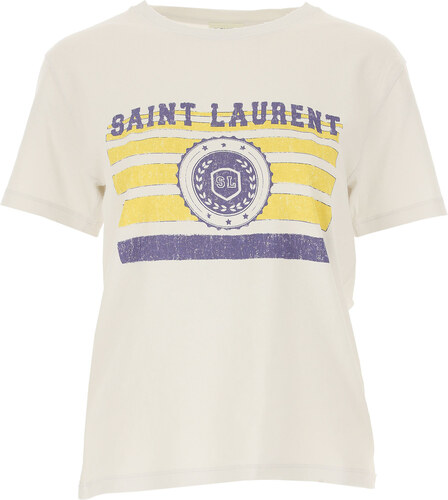 f9be777aae -25% Yves Saint Laurent Tričko pro ženy Ve výprodeji