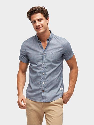 20cc13277786 Tom Tailor pánská košile 2055357 6732 - Glami.cz