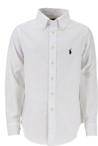 -39% Ralph Lauren Dětské košile pro chlapce Ve výprodeji v Outletu 10d23e0afd
