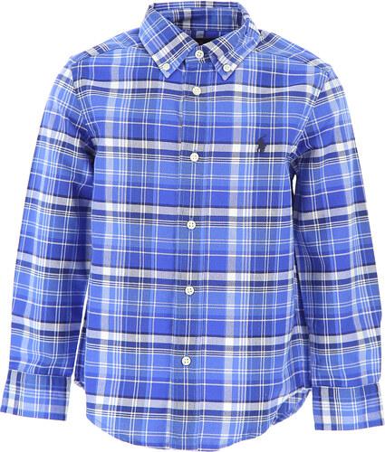 -15% Ralph Lauren Dětské košile pro chlapce Ve výprodeji v Outletu 4c7041cee1