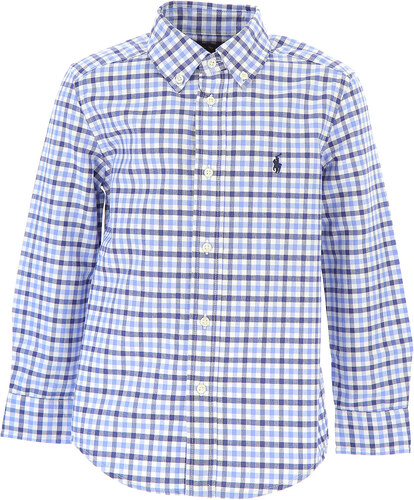 Ralph Lauren Dětské košile pro chlapce Ve výprodeji v Outletu 846ce788c2