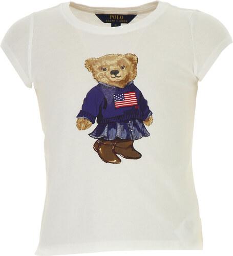 929b7141a43 Ralph Lauren Dětské tričko pro dívky Ve výprodeji