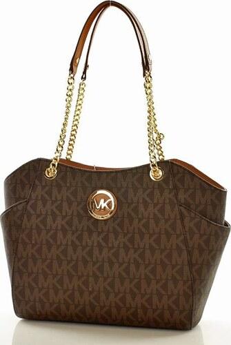 Klasická hnedá kabelka MICHAEL KORS (MK9) - Glami.sk c695a9f5667